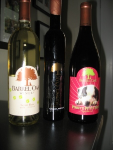 Barrel Oak Winery wines
