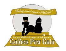 AWLA golden paw gala