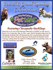 PetMAC Grand Opening Flyer Color